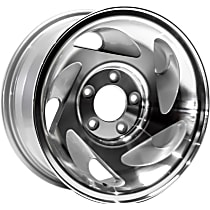 ALY03196U10N Jante Wheel, Aluminum, Silver, 17 in. x 7.5 in., Sold Individually