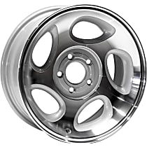Jante ALY03293U10N Wheel, Aluminum, Silver, 16 in. x 7 in., Sold Individually
