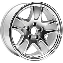 Jante ALY03471U20N Wheel, Aluminum, Silver, 17 in. x 7 in., Sold Individually