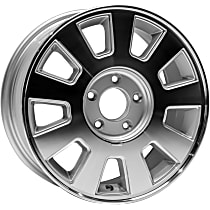 ALY03496U20N Jante Wheel, Aluminum, Silver, 16 in. x 7 in., Sold Individually