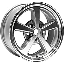 Jante Wheel, Aluminum, Charcoal, 17 in. x 8 in., Sold Individually