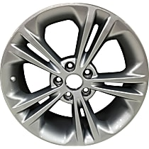 Jante ALY03922U20N Wheel, Aluminum, Silver, 18 in. x 8 in., Sold Individually