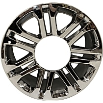 Jante Wheel, Aluminum, Chrome, 20 in. x 9 in., Sold Individually