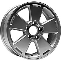 Jante ALY05070U20N Wheel, Aluminum, Silver, 16 in. x 6.5 in., Sold Individually