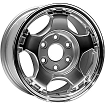 Jante ALY05073U10N Wheel, Aluminum, Silver, 16 in. x 7 in., Sold Individually