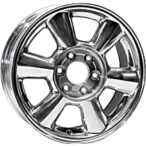Jante ALY05143U80N Wheel, Aluminum, Polished, 17 in. x 7 in., Sold Individually