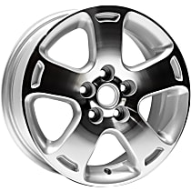 Jante Wheel, Aluminum, Silver, 16 in. x 6.5 in., Sold Individually