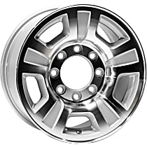 Jante ALY05298U10N Wheel, Aluminum, Silver, 17 in. x 7.5 in., Sold Individually