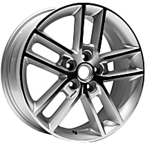 Jante Wheel, Aluminum, Silver, 18 in. x 7 in., Sold Individually