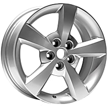 Jante ALY05334U20N Wheel, Aluminum, Silver, 17 in. x 7 in., Sold Individually