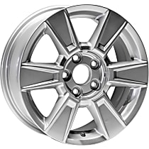 Jante ALY05449U20N Wheel, Aluminum, Silver, 17 in. x 7 in., Sold Individually