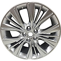 Jante ALY05615U77N Wheel, Aluminum, Silver, 20 in. x 8.5 in., Sold Individually