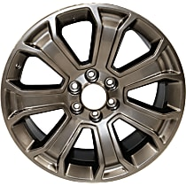 Jante ALY05665U79N Wheel, Aluminum, Silver, 22 in. x 9 in., Sold Individually