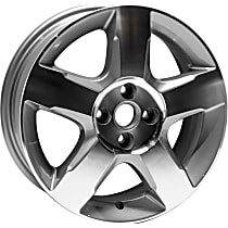 Jante ALY07044U10N Wheel, Aluminum, Silver, 16 in. x 6 in., Sold Individually