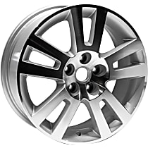 Jante ALY07047U10N Wheel, Aluminum, Silver, 17 in. x 7 in., Sold Individually