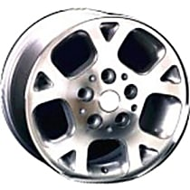Jante ALY09027U20N Wheel, Aluminum, Silver, 16 in. x 7 in., Sold Individually