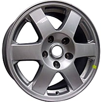 Jante ALY09079U20N Wheel, Aluminum, Silver, 17 in. x 7.5 in., Sold Individually