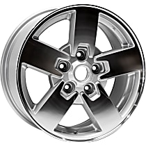 Jante ALY09097U10N Wheel, Aluminum, Silver, 17 in. x 7.5 in., Sold Individually