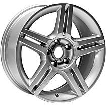Jante ALY58788U20N Wheel, Aluminum, Silver, 17 in. x 7.5 in., Sold Individually