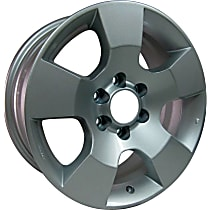 Jante ALY62464U20N Wheel, Aluminum, Silver, 16 in. x 7 in., Sold Individually
