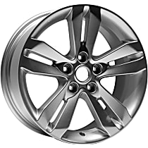 Jante ALY62552U20N Wheel, Aluminum, Silver, 17 in. x 7.5 in., Sold Individually