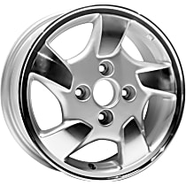 Jante ALY63775U10N Wheel, Aluminum, Silver, 15 in. x 6 in., Sold Individually