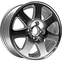 Jante ALY63793U10N Wheel, Aluminum, Silver, 15 in. x 6 in., Sold Individually