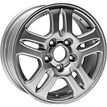 Jante ALY63842U20N Wheel, Aluminum, Silver, 15 in. x 6 in., Sold Individually