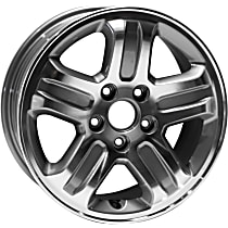 Jante ALY63849U20N Wheel, Aluminum, Silver, 16 in. x 6.5 in., Sold Individually