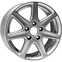 Jante ALY63858U20N Wheel, Aluminum, Silver, 16 in. x 6.5 in., Sold Individually