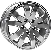 Jante ALY63888U20N Wheel, Aluminum, Silver, 16 in. x 6.5 in., Sold Individually