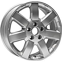Jante ALY63928U20N Wheel, Aluminum, Silver, 17 in. x 6.5 in., Sold Individually