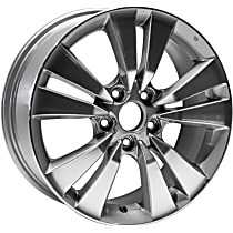 Jante ALY63938U10N Wheel, Aluminum, Charcoal, 17 in. x 7.5 in., Sold Individually