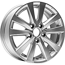Jante ALY64024U20N Wheel, Aluminum, Silver, 16 in. x 6.5 in., Sold Individually