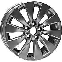 Jante ALY64047U20N Wheel, Aluminum, Silver, 17 in. x 7.5 in., Sold Individually