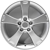 Jante ALY64861U20N Wheel, Aluminum, Silver, 17 in. x 6.5 in., Sold Individually