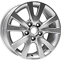 Jante ALY64894U20N Wheel, Aluminum, Silver, 16 in. x 6.5 in., Sold Individually