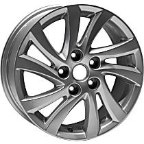 Jante ALY64948U20N Wheel, Aluminum, Silver, 16 in. x 6.5 in., Sold Individually