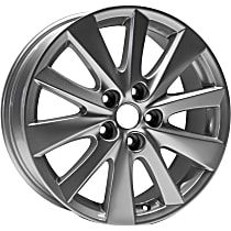 ALY64954U20N Jante Wheel, Aluminum, Silver, 17 in. x 7 in., Sold Individually
