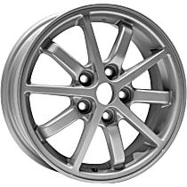 Jante ALY65771U10N Wheel, Aluminum, Silver, 16 in. x 6 in., Sold Individually