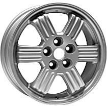 Jante ALY65772U10N Wheel, Aluminum, Silver, 17 in. x 6.5 in., Sold Individually