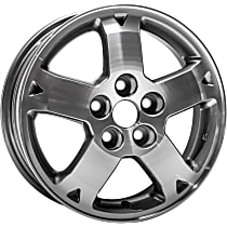 Jante ALY65782U30N Wheel, Aluminum, Silver, 16 in. x 6 in., Sold Individually