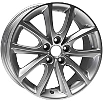 ALY68796U20N Jante Wheel, Aluminum, Silver, 15 in. x 6.5 in., Sold Individually