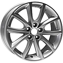 Jante ALY68796U20N Wheel, Aluminum, Silver, 15 in. x 6.5 in., Sold Individually