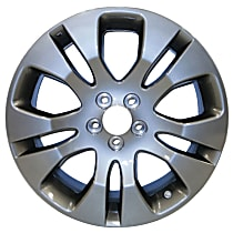 Jante ALY68798U30N Wheel, Aluminum, Charcoal, 17 in. x 7 in., Sold Individually
