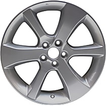 ALY68807U20N Jante Wheel, Aluminum, Silver, 17 in. x 7 in., Sold Individually