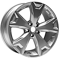 Jante ALY68814U20N Wheel, Aluminum, Silver, 17 in. x 7 in., Sold Individually