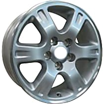 Jante ALY69397U10N Wheel, Aluminum, Silver, 16 in. x 6.5 in., Sold Individually