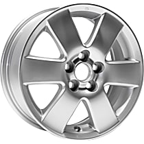 Jante ALY69424U20N Wheel, Aluminum, Silver, 15 in. x 6 in., Sold Individually