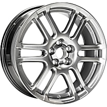 Jante ALY69471U78N Wheel, Aluminum, Silver, 17 in. x 7 in., Sold Individually